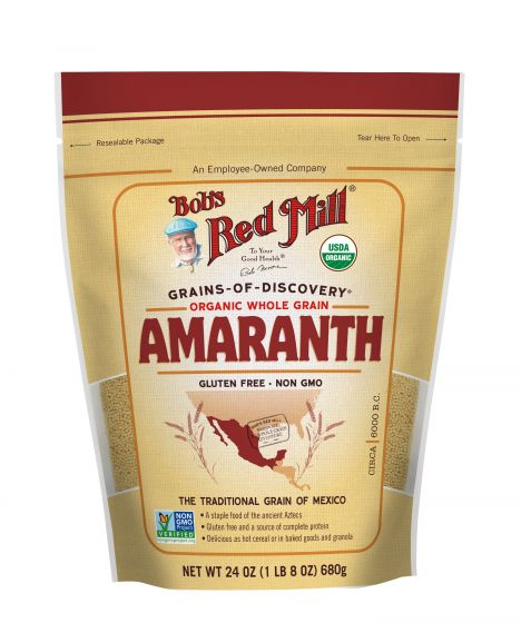 Bob's Red Mill Organic Gluten Free Whole Grain Amaranth