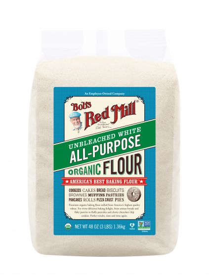 Bob's Red Mill Organic Unbleached White All Purpose Flour