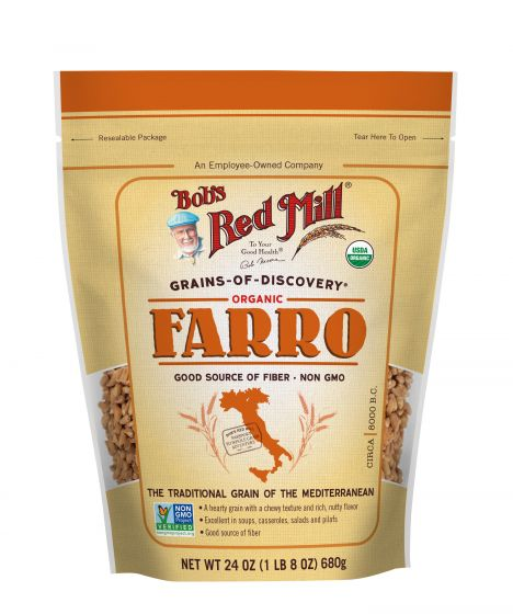 Bob's Red Mill Organic High Fiber Farro Grain