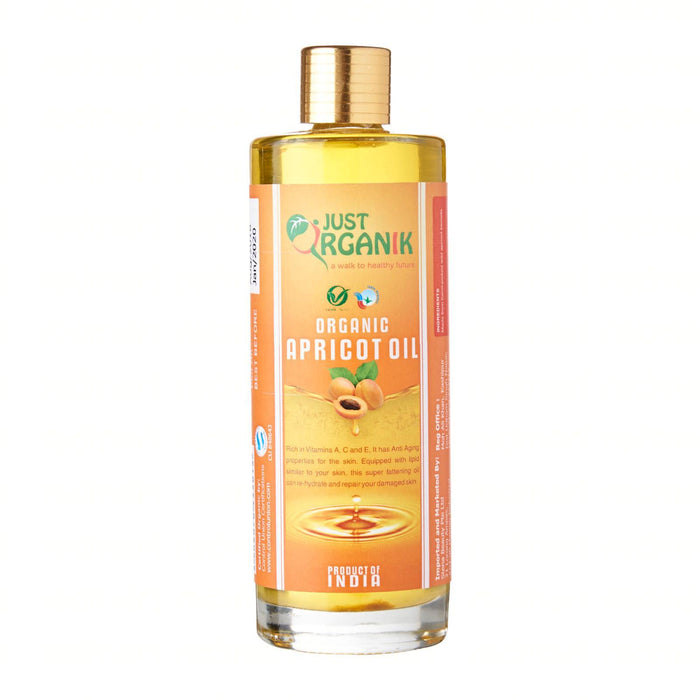 Just Organik Organic Apricot Oil