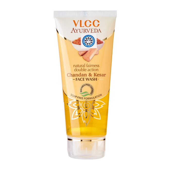 VLCC Ayurvedic Chandan and Kesar Face Wash