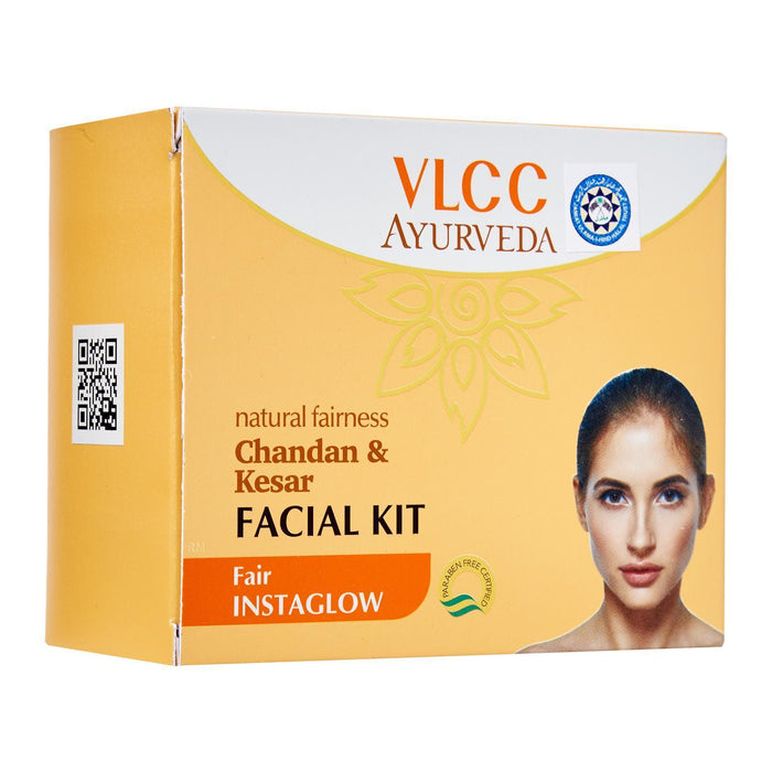 VLCC Skin Brightening Ayurvedic Chandan and Kesar Facial Kit