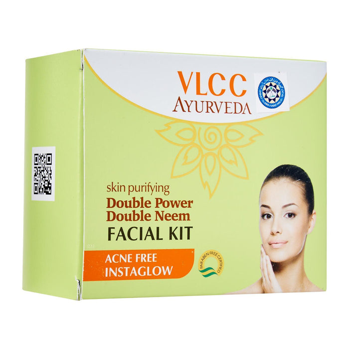 VLCC Skin Purifying Ayurvedic Double Neem Facial Kit