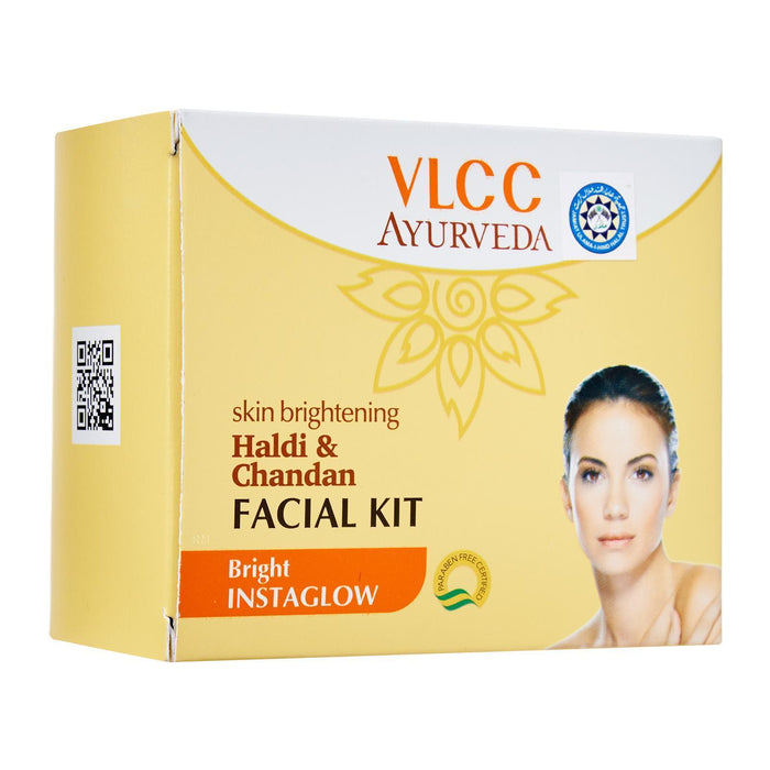 VLCC Skin Brightening Ayurvedic Haldi and Chandan Facial Kit