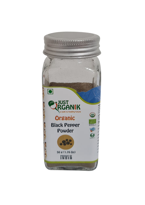 Just Organik Organic Black Pepper Powder