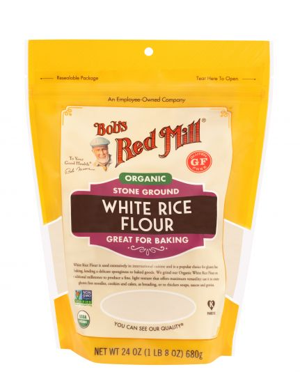 Bob's Red Mill Organic Glute Free White Rice Flour