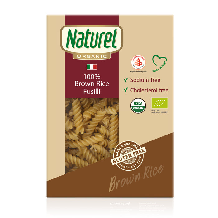 Naturel Organic Brown Rice Fusilli