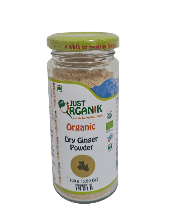 Just Organik Organic Dry Ginger Powder
