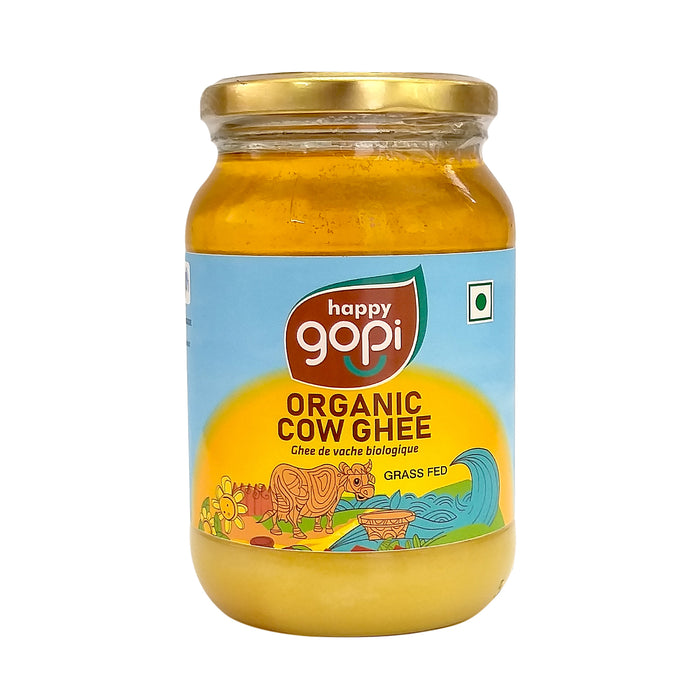 Happy Gopi Organic Cow Ghee