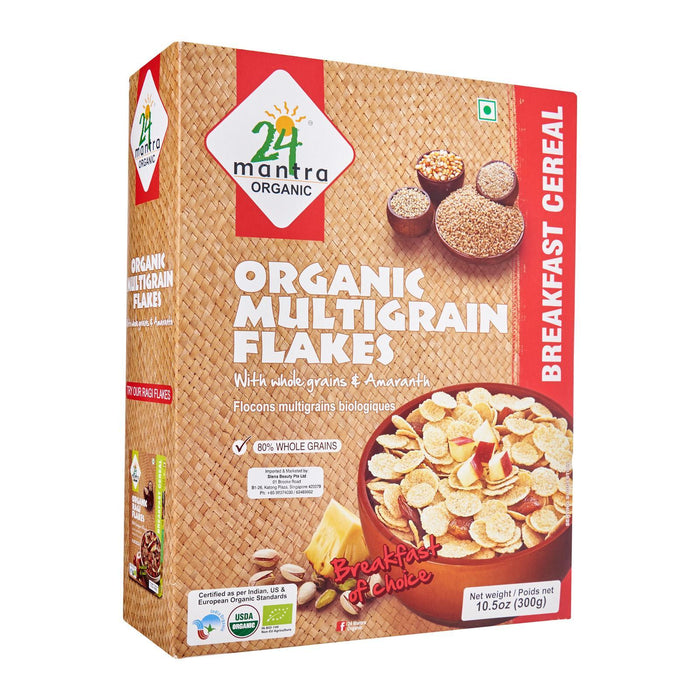 24 Mantra Organic Multi Grain Flakes