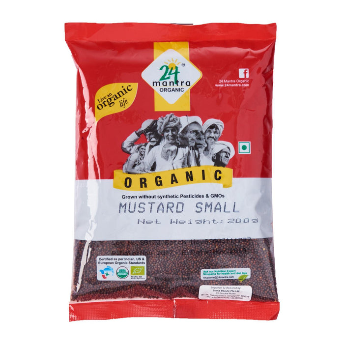 24 Mantra Organic Small Mustard Seed