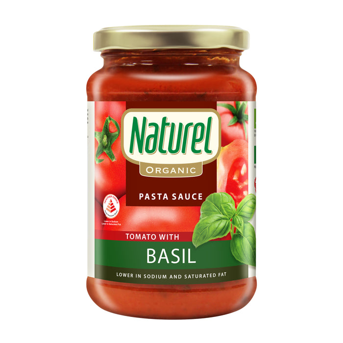 Naturel Organic Tomato With Basil Pasta Sauce