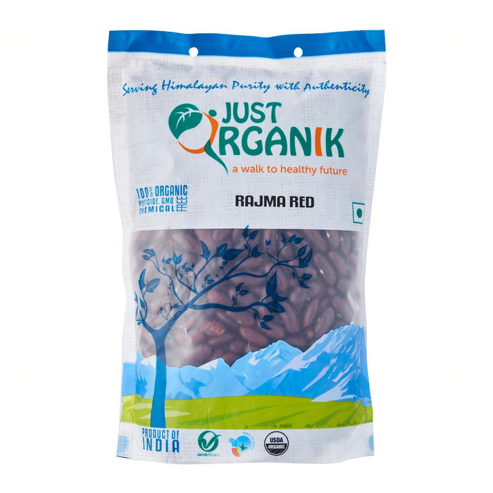 Just Organik Organic Rajma Red