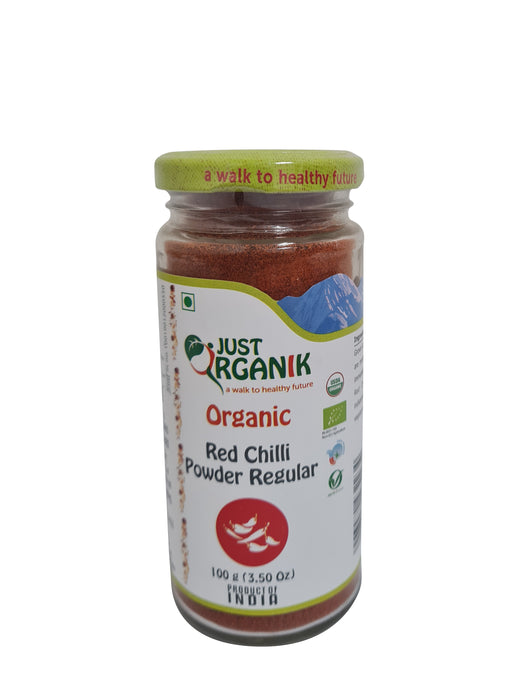 Just Organik Organic Red Chilli Powder Regular
