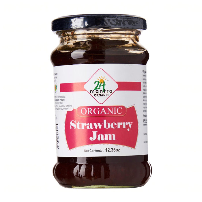 24 Mantra Organic Strawberry Jam