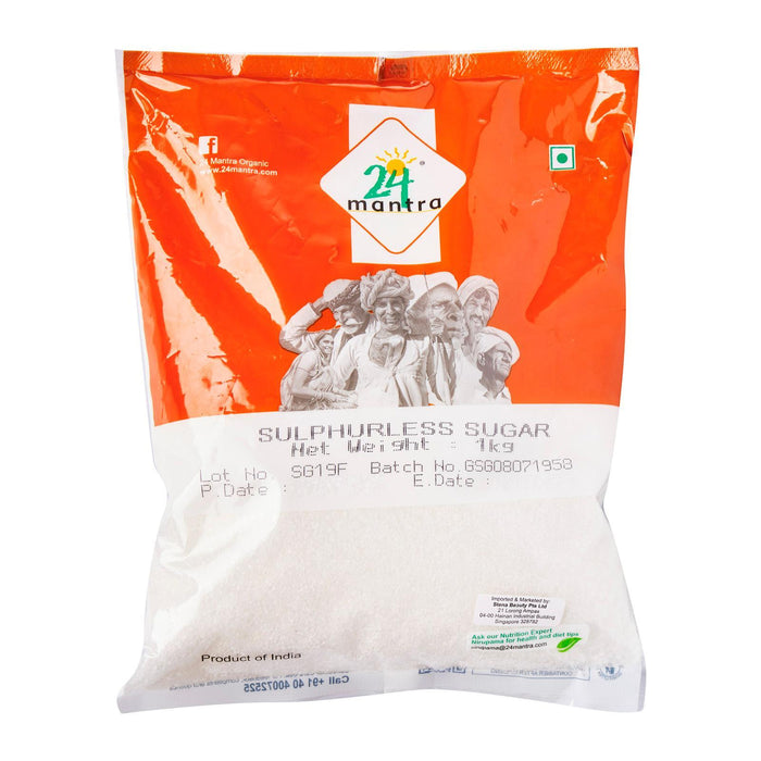 24 Mantra Sulphurless Sugar