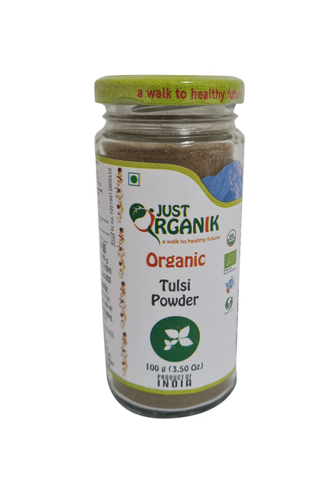 Just Organik Organic Tulsi Powder