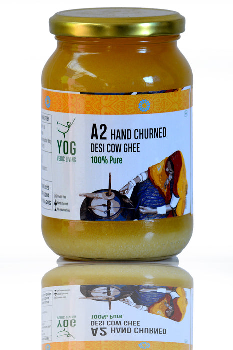 Yog Hand Churned A2 Desi Cow Ghee