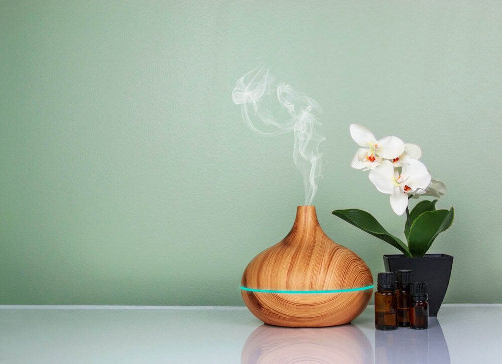 Using a Diffuser to apply essential oils for ear health
