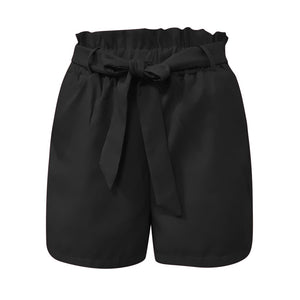 Frill Ruffle Sashes Shorts