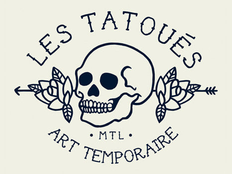 Les Tatoués Montreal Temporary Tattoos and Patches Logo