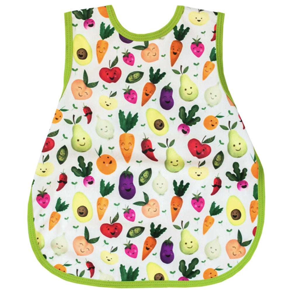 BapronBaby Toddler Bib (6m+) Market Fresh Produce