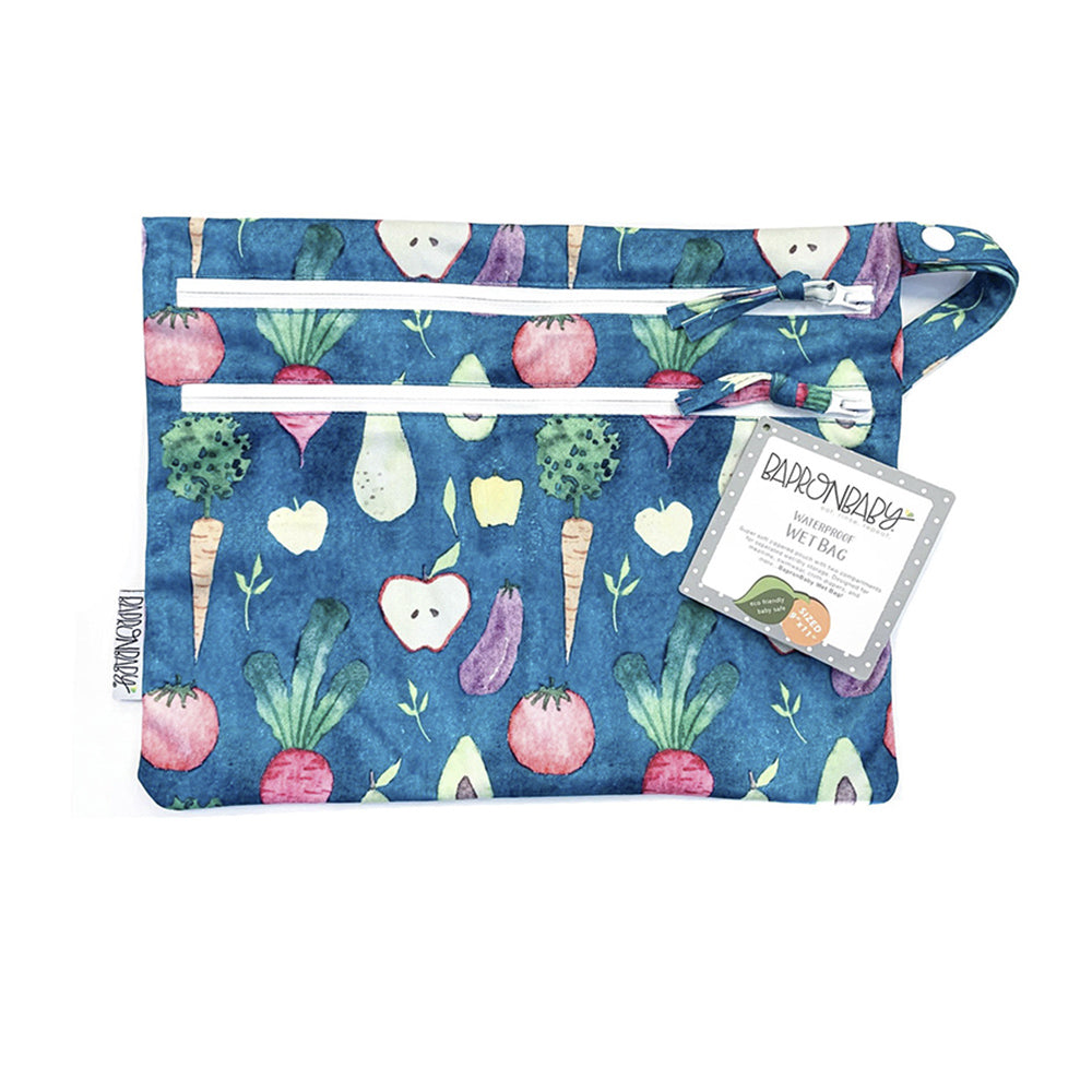 BapronBaby Wet Bag Core Collection Organic Produce