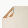 Gathre Micro Leather Change Mat, Playmat, Placemat in Blanc