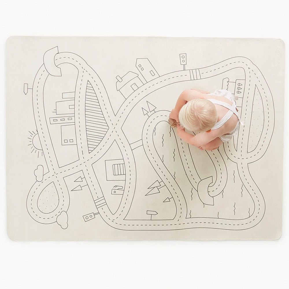 Gathre Mini+ Multipurpose Leather Mat, Playmat in print Village