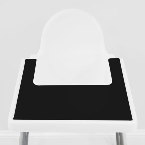 Yeah Baby Goods High Chair Placemat - Cinder Black