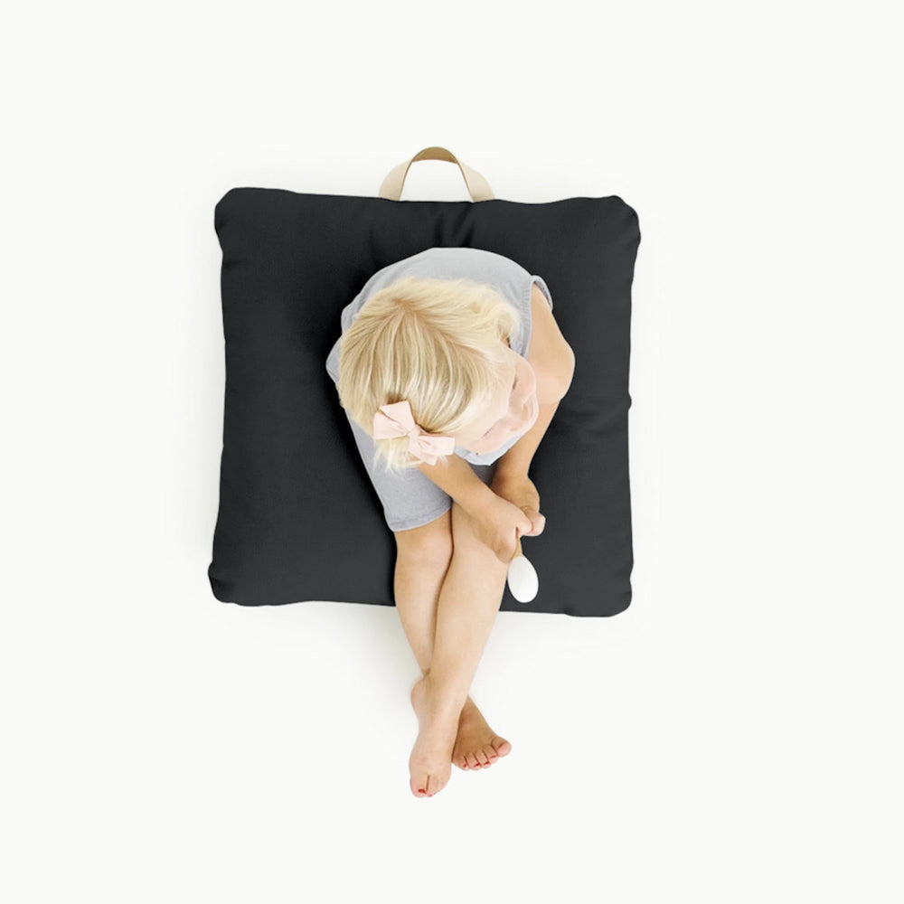 Gathre Floor Cushion Mini Square in Raven