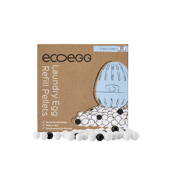 Ecoegg Laundry Egg REFILL 50 Washes - Fresh Linen