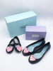 "Baubles + Soles ""Mommy + Me"" Lisa Shoes with twist lock pink hearts in Licorice Baubles + Soles Hip Mommies Canada"