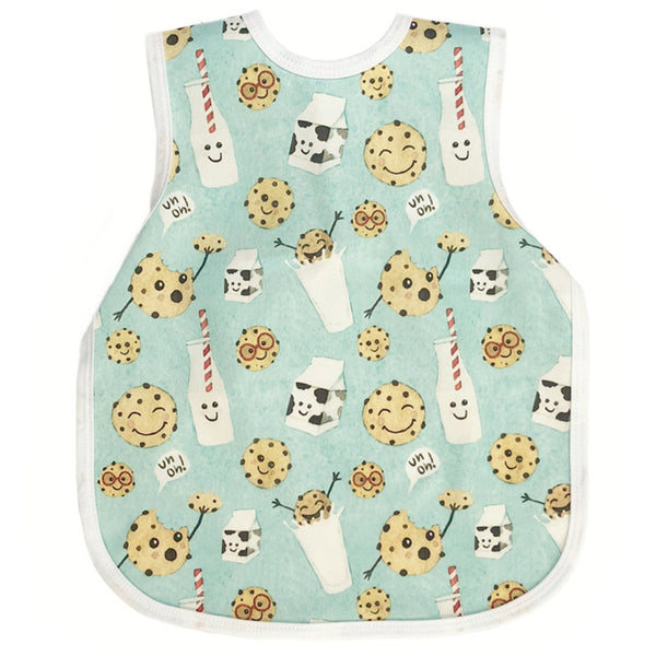 BapronBaby Toddler Bib (6m+) Core Collection Cookies and Milk