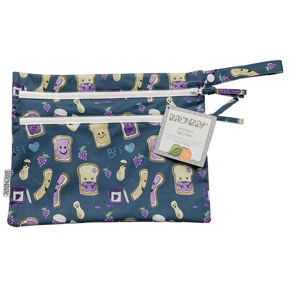 BapronBaby Wet Bag Core Collection PBJ Pals