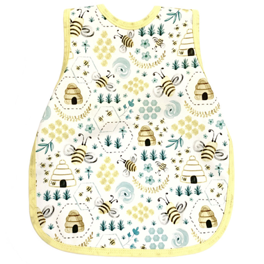 BapronBaby Toddler Bib (6m+) Core Collection Busy Bee