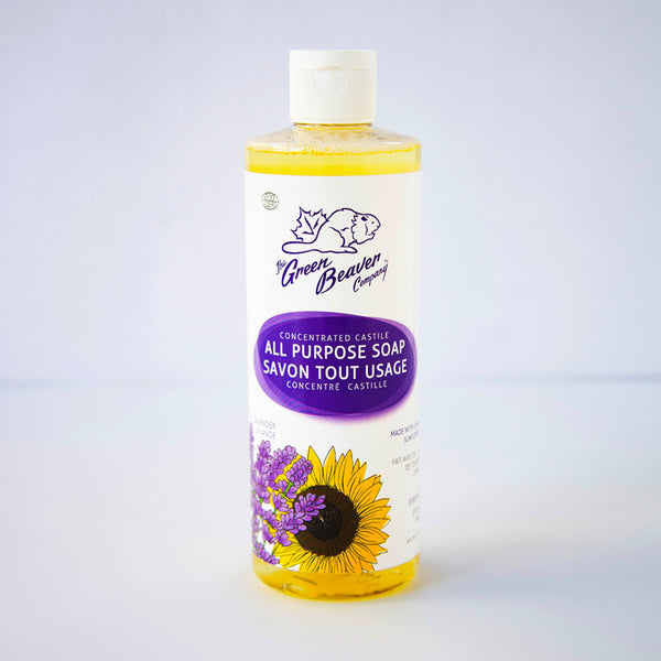 Green Beaver All Purpose Castile Liquid Soap Lavender