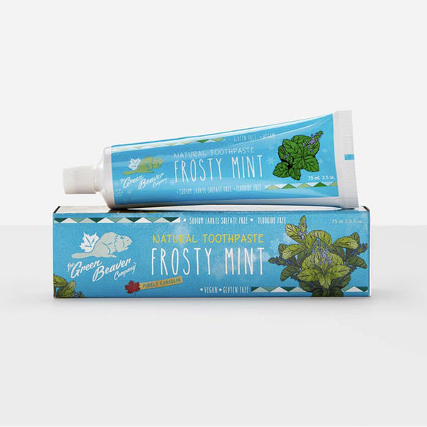 Green Beaver Toothpaste Fluoride Free in Frosty Mint 75ml