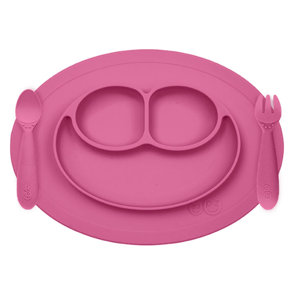 ezpz Mini Feeding Set in Pink