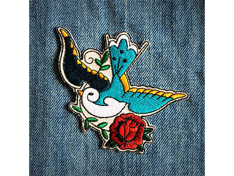 Les Tatoues Patch The Sparrow Les Tatoues Hip Mommies Canada