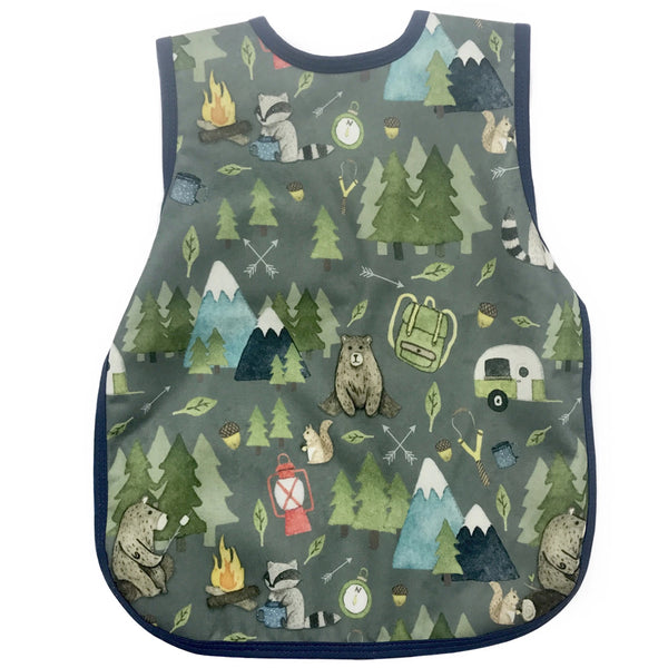 BapronBaby Toddler Bib (6m+) Core Collection Camping Bears