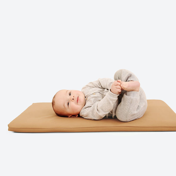 Gathre Micro+ Leather Padded Mat in Camel