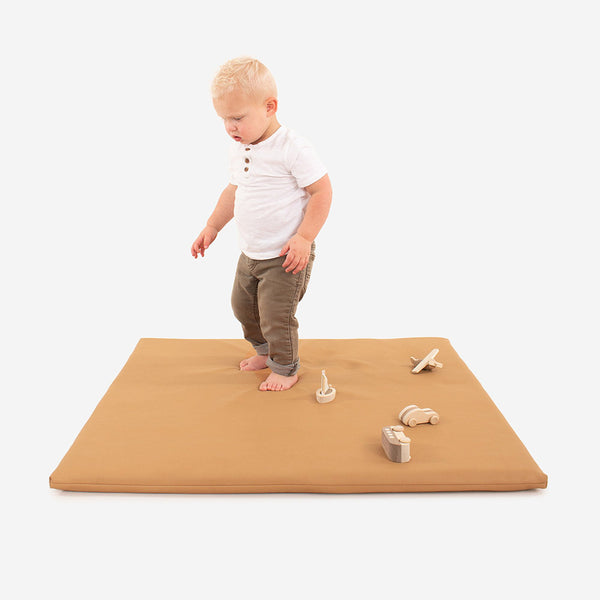 Gathre Mini Leather Padded Mat in Camel