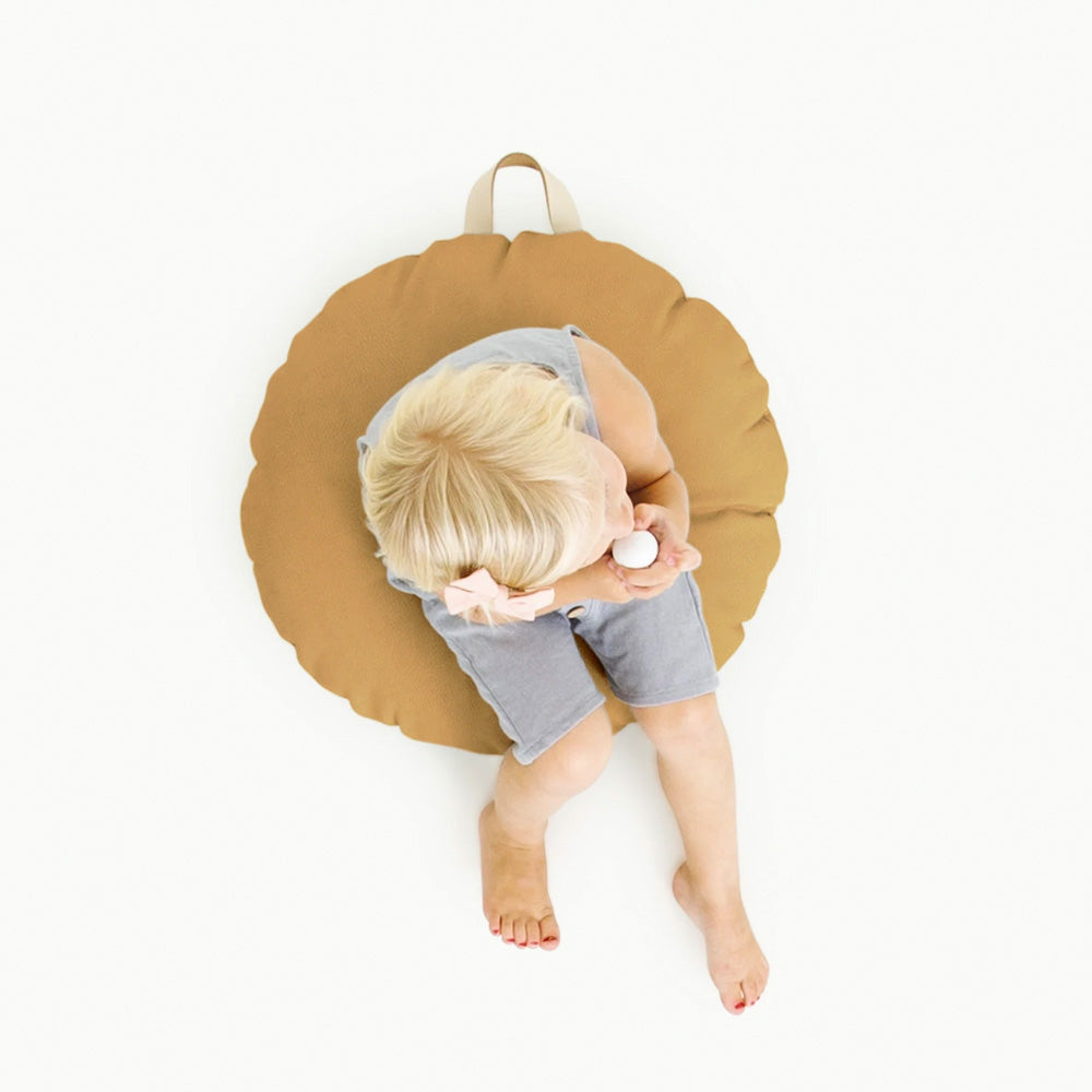 Gathre Floor Cushion Mini Circle in Camel