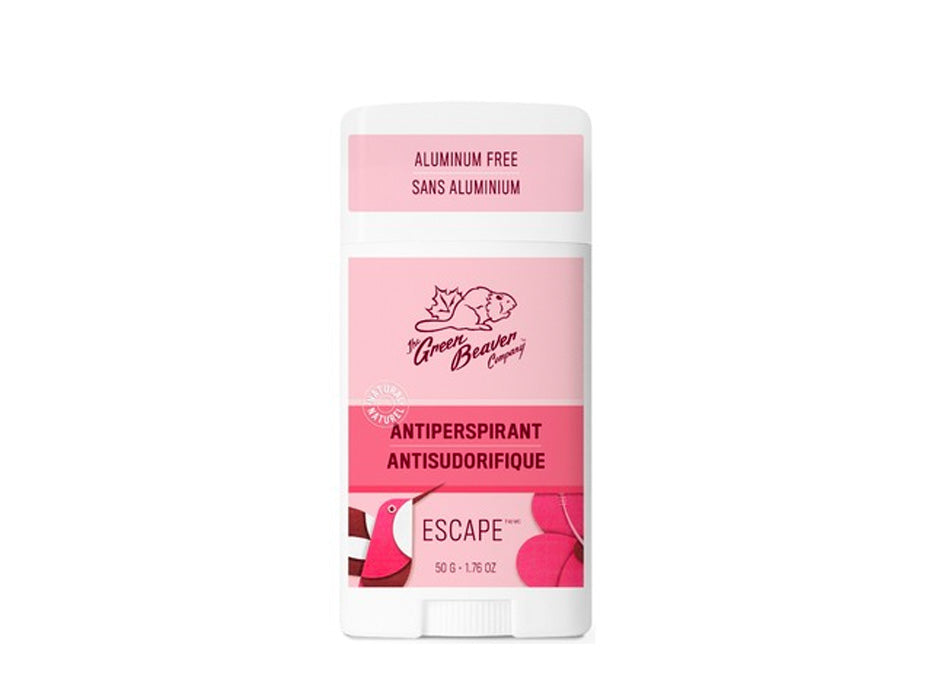 Green Beaver Natural Antiperspirant Escape 50g The Green Beaver Hip Mommies Canada