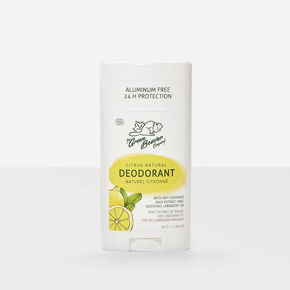 Green Beaver Natural Stick Deodorant Citrus 50g