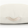 Gathre Floor Cushion Mini Square in Blanc