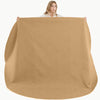 "Gathre MAXI CIRCLE Large Leather Mat 80"" in Camel"