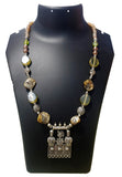 Oxidized Pendants Beaded Jewelry fashion Necklace