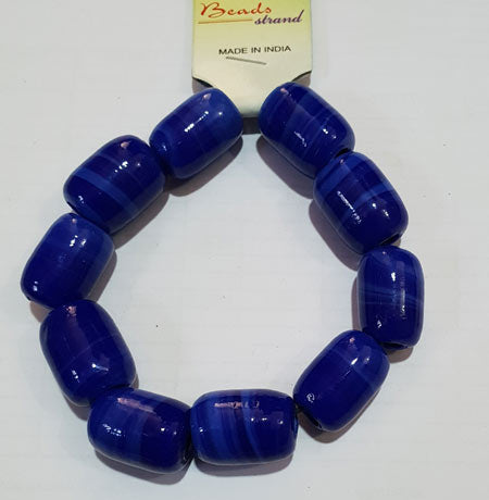 20x16mm, Large Hole and Large Size Trade Glass Beads, Make Jewellery something different